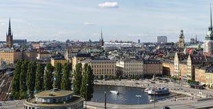 gamla老stan斯德哥尔摩瑞典城镇 图库摄影