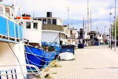 gamla около корабля пристани stan Стоковая Фотография RF