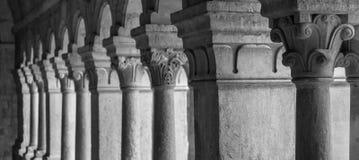 Gamla Abbey Galley Arkivbild