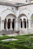 Gamla Abbey Garden Arkivfoto