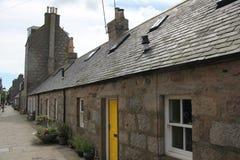 Gamla Aberdeen Skottland Royaltyfria Foton