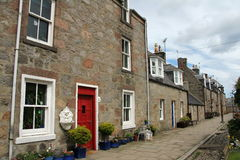 Gamla Aberdeen Skottland Royaltyfri Foto