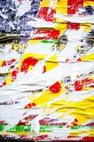 Gamla affischgrungetexturer Royaltyfria Bilder