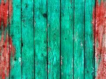 Gamla använde wood paneler för grunge bakgrund Royaltyfria Foton