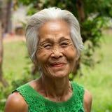 Gamla asiatiska kvinnor Royaltyfri Foto