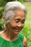 Gamla asiatiska kvinnor Arkivbilder