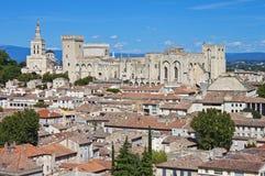 Gamla Avignon, Frankrike Arkivfoton