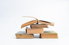 Gamla böcker Arkivbilder