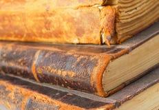 Gamla böcker. Fotografering för Bildbyråer