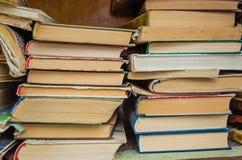Gamla böcker Arkivfoton