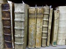 Gamla böcker Arkivbild