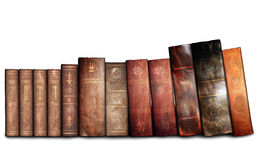Gamla böcker, arkiv Royaltyfri Fotografi