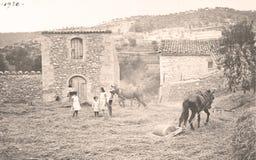 Gamla bönder Fotografering för Bildbyråer