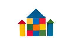 Gamla barns byggnadskvarter Fotografering för Bildbyråer