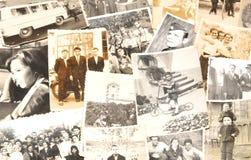 Gamla bilder arkivbild