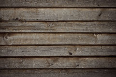 Gamla bruna träbräden, texturbakgrund, chokladfärg Arkivfoton