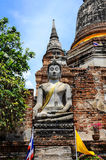 Gamla buddha Arkivbild