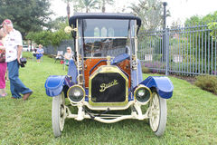 Gamla Buick Car-1912 på bilshowen Fotografering för Bildbyråer
