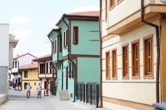 Gamla byggnader i den Eskisehir staden Royaltyfri Bild