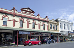Gamla byggnader i Devonport Nya Zeeland Royaltyfria Bilder