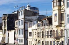 Gamla byggnader i Istanbul Arkivfoton