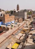 Gamla byggnader i Jodhpur, Indien Royaltyfria Foton