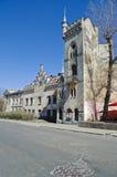 Gamla byggnader i Lvov Arkivfoton