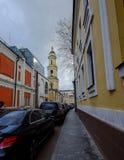 Gamla byggnader i Moskva, Ryssland Royaltyfria Bilder