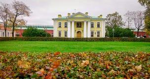 Gamla byggnader i St Petersburg, Ryssland Arkivbild
