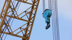Gamla Crane Hook stock video