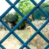 Gamla fönsterjärnstänger Royaltyfria Bilder