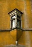 Gamla fjärdfönster Arkivfoton