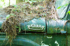 Gamla Ford Emblem Arkivfoto