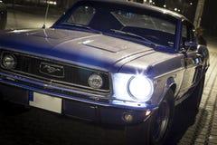 Gamla Ford Mustang GT Fotografering för Bildbyråer