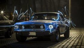Gamla Ford Mustang GT Royaltyfria Foton