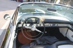 Gamla Ford Thunderbird Car Arkivfoton