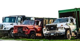Gamla Ford Trucks royaltyfri foto