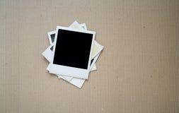 Gamla fotografiska ramar, Arkivbild