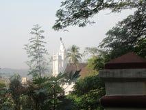 Gamla Goa och dess kyrkor fotografering för bildbyråer