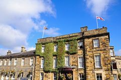 Gamla Hall Hotel, Buxton Royaltyfria Foton