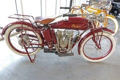 Gamla Harley Davidson Arkivfoto