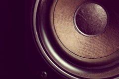 Gamla högtalare Arkivbilder