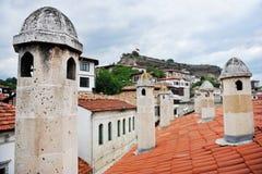 Gamla hus för Safranbolu ottoman royaltyfria bilder