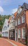 Gamla hus i mitten av lömska blicken, Tyskland Royaltyfri Foto