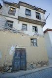 Gamla hus och gator i Tirilye arkivfoto