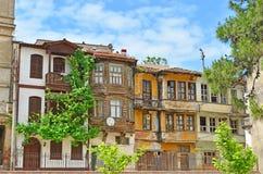 Gamla hus och gator i Tirilye arkivbilder