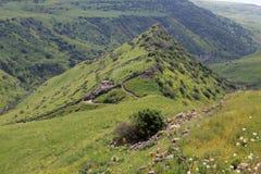 Gamla, Israel. Israeli national park Gamla at the Golan Hights Royalty Free Stock Photo