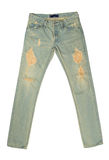 Gamla Jean som en bakgrund Arkivfoto