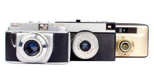 Gamla kameror Royaltyfri Fotografi