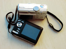 Gamla kameror Arkivbilder